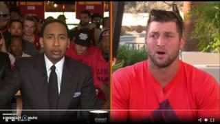 WATCH: Tim Tebow Defends His Pursuit of Baseball Dream