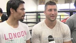Manny Pacquiao & Tim Tebow Discuss Their Faith In GOD
