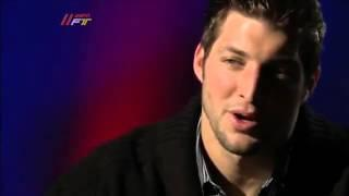 Skip Bayless Interviews Tim Tebow About His Faith-FirstTake ESPN
