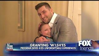 Tim Tebow Focuses on 'Faith, Hope and Love' at Annual Charity Event