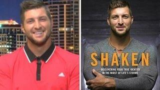 Tim Tebow opens up about his new book 'Shaken'