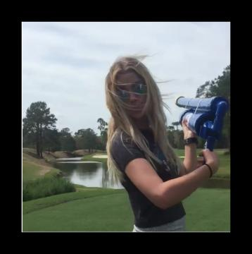 Ashley Benson crush'in it for the team!