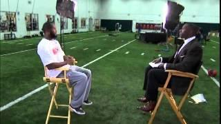 Tim Tebow interviewed By Shannon Sharpe & CBS (11-27-2011)