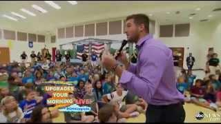 Tim Tebow Surprises Florida Elementary School With A 'GMA' Upgrade
