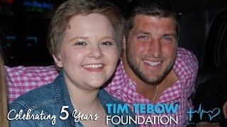 Tim Tebow Foundation Celebrates 5 Years