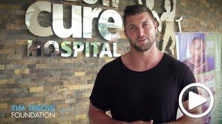 Tim Tebow Thanks Supporters of the Tebow CURE Hospital