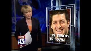 Florida Wounded Warrior Gets Surprise Visit From Tim Tebow!